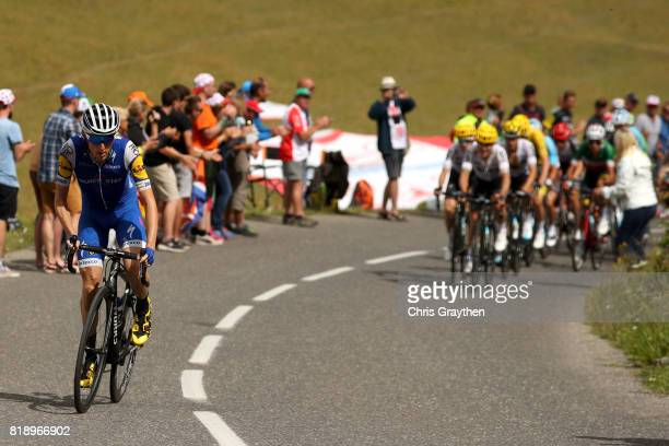 Daniel Martin of Ireland riding for QuickStep Floors attacks the peloton during stage 17 of the 2017 Le Tour de France a 183km stage from La Mure to...