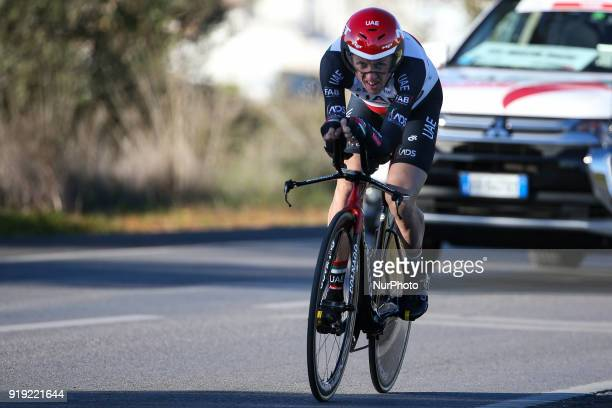 Daniel Martin of UAE Team Emirates during the 3rd stage of the cycling Tour of Algarve between Lagoa and Lagoa on February 16 2018