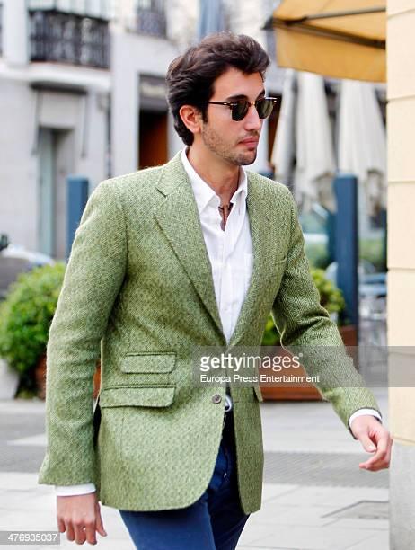 Daniel Martinez Bordiu is seen on March 5, 2014 in Madrid, Spain.