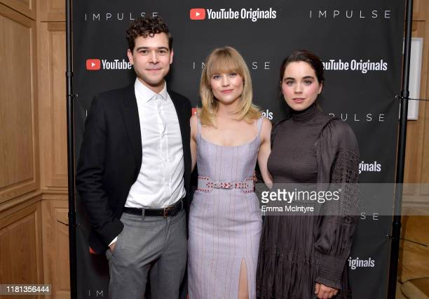 """Daniel Maslany, Maddie Hasson and Sarah Desjardins as YouTube Originals hosts a special screening of """"Impulse"""" Season 2 from the director of The..."""