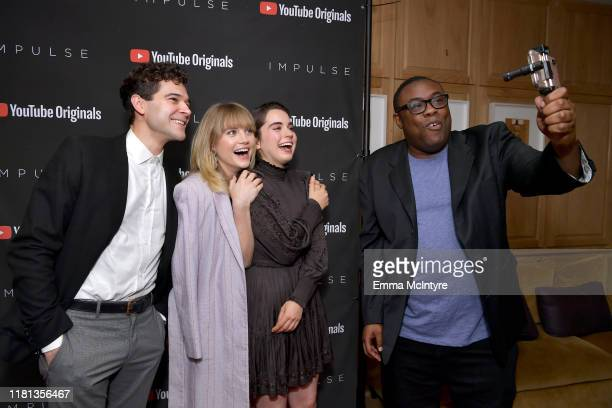 """Daniel Maslany, Maddie Hasson, Sarah Desjardins and Andre Meadows as YouTube Originals hosts a special screening of """"Impulse"""" Season 2 from the..."""