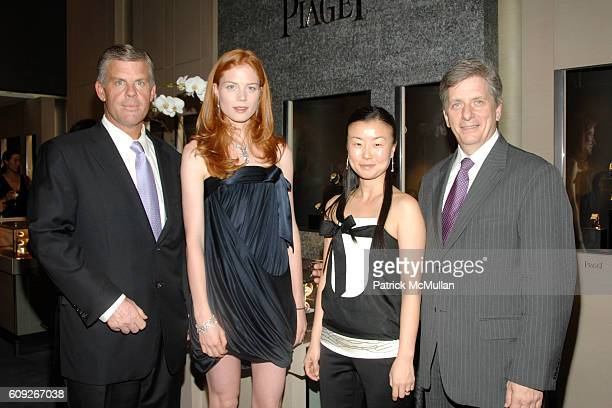 Daniel Mawicke Jessica Joffe DooRi Chung and Larry Boland attend Preview of New Limited Edition Designs by DooRi for PIAGET at Piaget Boutique on...