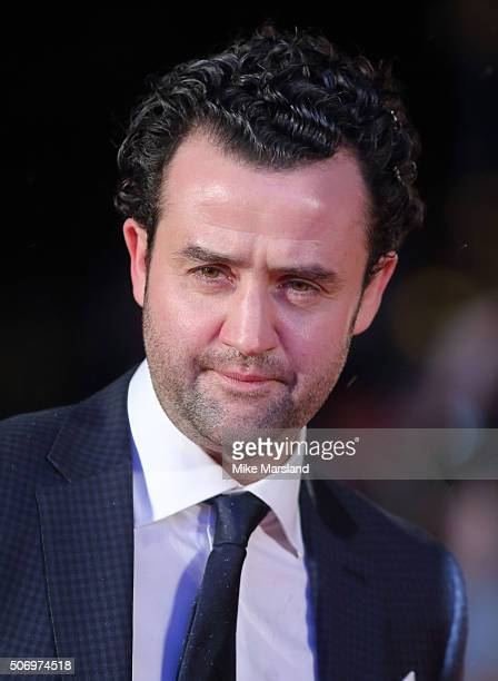 Daniel Mays attends 'Dad's Army' World Premiere on January 26 2016 in London United Kingdom