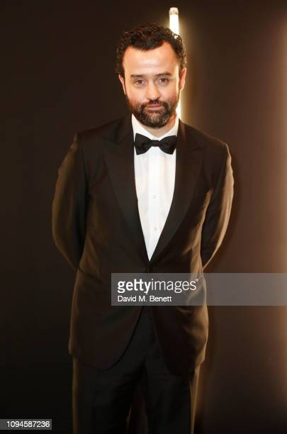 Daniel Mays attends the dunhill PreBAFTA dinner at dunhill Bourdon House on February 6 2019 in London England