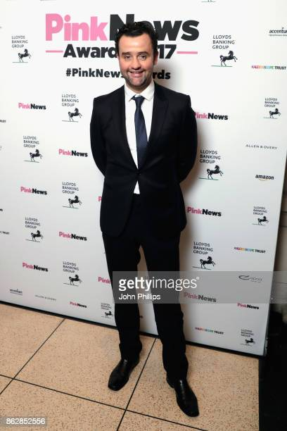 Daniel Mays attends the Pink News Awards 2017 held at One Great George Street on October 18 2017 in London England