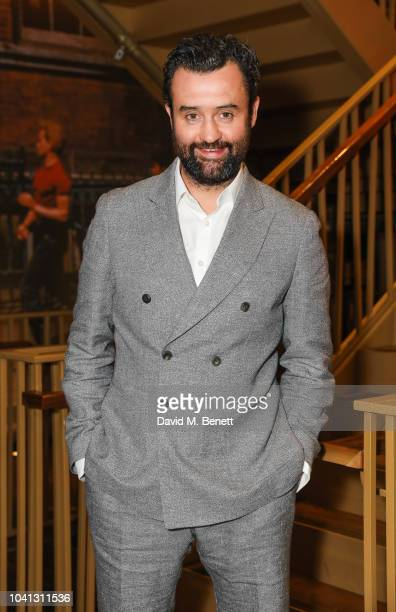 Daniel Mays attends the UK Premiere of Two For Joy at The Everyman Cinema King's Cross on September 26 2018 in London England