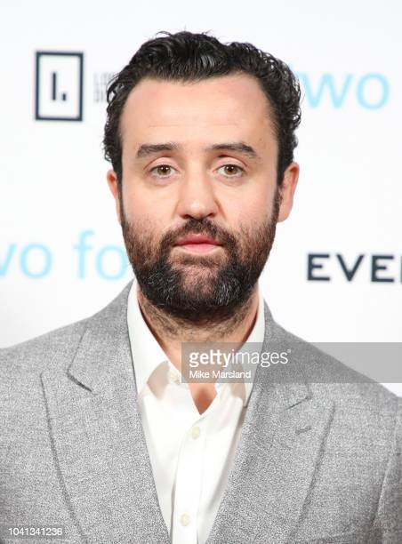 Daniel Mays attends the UK premiere of 'Two For Joy' at The Everyman Cinema on September 26, 2018 in London, England.