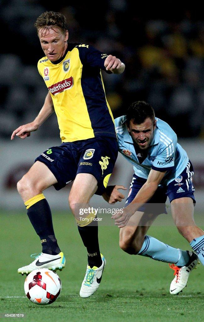 A-League Rd 9 - Central Coast v Sydney