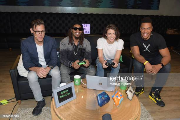 Daniel McGuffey Lil Jon and Lauren Cohan join Xbox Live Sessions with host Rukari Austin to play MIDDLE EARTH SHADOW OF WAR on Xbox One X on November...