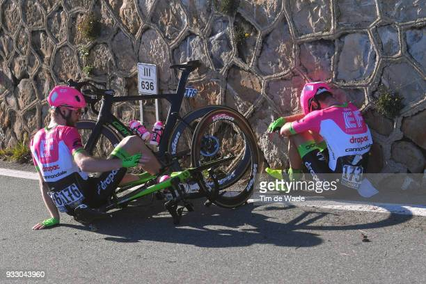 Daniel Mclay of Great Britain and Team EF Education First-Drapac p/b Cannondale / Simon Clarke of Australia and Team EF Education First-Drapac p/b...