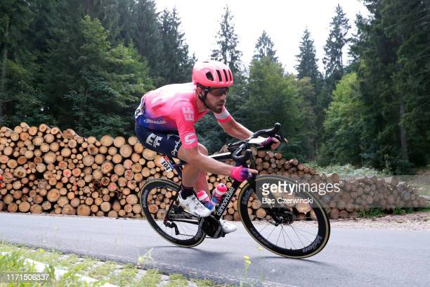 Daniel McLay of United Kingdom and Team EF Education First / during the 34th Deutschland Tour 2019 Stage 4 a 1599km stage from Eisenach to Erfurt /...