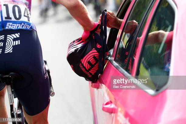 Daniel McLay of United Kingdom and Team EF Education First / Feed Zone / Car / Detail view / during the 34th Deutschland Tour 2019 Stage 4 a 1599km...