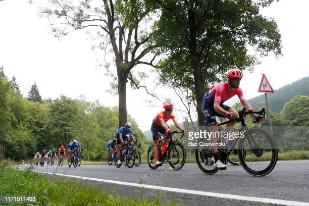 Daniel McLay of United Kingdom and Team EF Education First / Peloton / during the 34th Deutschland Tour 2019 Stage 4 a 1599km stage from Eisenach to...