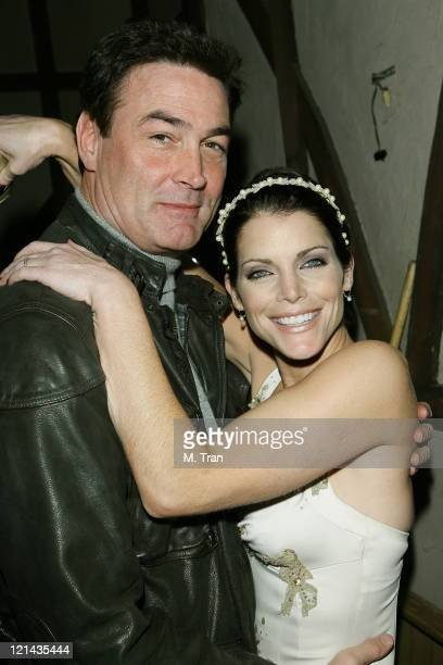 Daniel McVicar and Lesli Kay during 'The Bold and the Beautiful' 5000th Episode Celebration January 23 2007 at Stage 31 CBS Television City in Los...