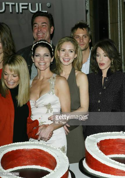 Daniel McVicar Lesli Kay Ashley Jones Hunter Tylo and Dax Griffin