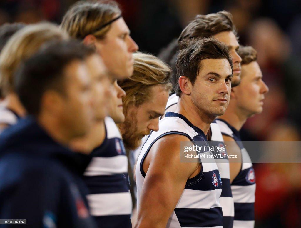 AFL First Elimination Final - Melbourne v Geelong : News Photo