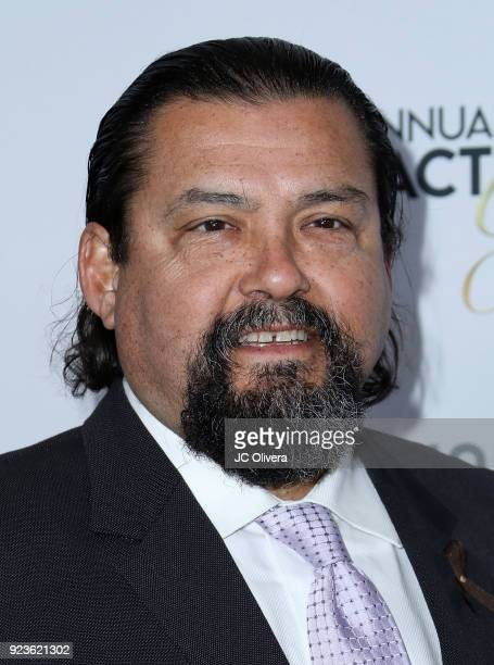 Daniel Mora attends the 21st Annual National Hispanic Media Coalition Impact Awards Gala at Regent Beverly Wilshire Hotel on February 23 2018 in...
