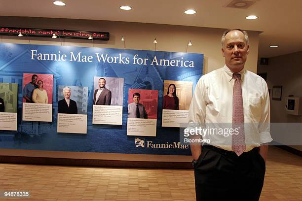 Daniel Mudd Fannie Mae CEO poses at Fannie Mae headquarters in Washington DC Monday June 6 2005 Mudd who was named chief executive officer on June 1...