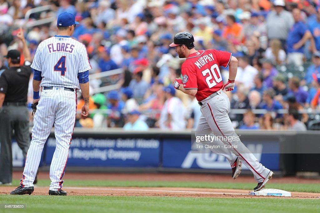Washington Nationals Vs New York Mets : News Photo