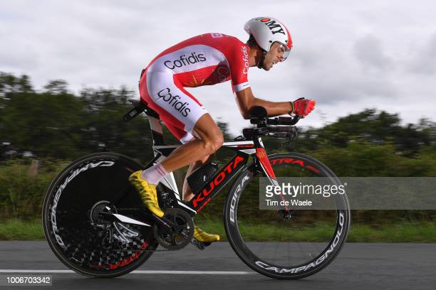Daniel Navarro Garcia of Spain and Team Cofidis / during the 105th Tour de France 2018 Stage 20 a 31km Individual Time Trial stage from...