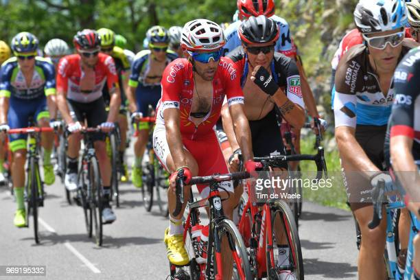 Daniel Navarro Garcia of Spain and Team Cofidis / during the 70th Criterium du Dauphine 2018 Stage 4 a 181km stage from ChazeysurAin to LansenVercors...