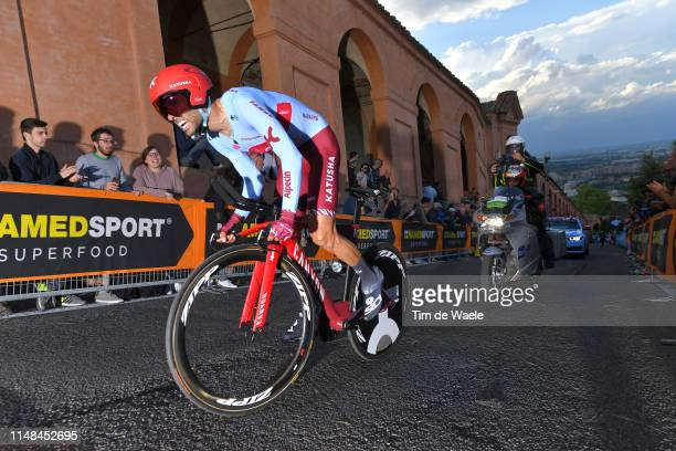 Daniel Navarro of Spain and Team Katusha Alpecin / during the 102nd Giro d'Italia 2019 Stage 1 a 8km Individual Time Trial from Bologna to San...