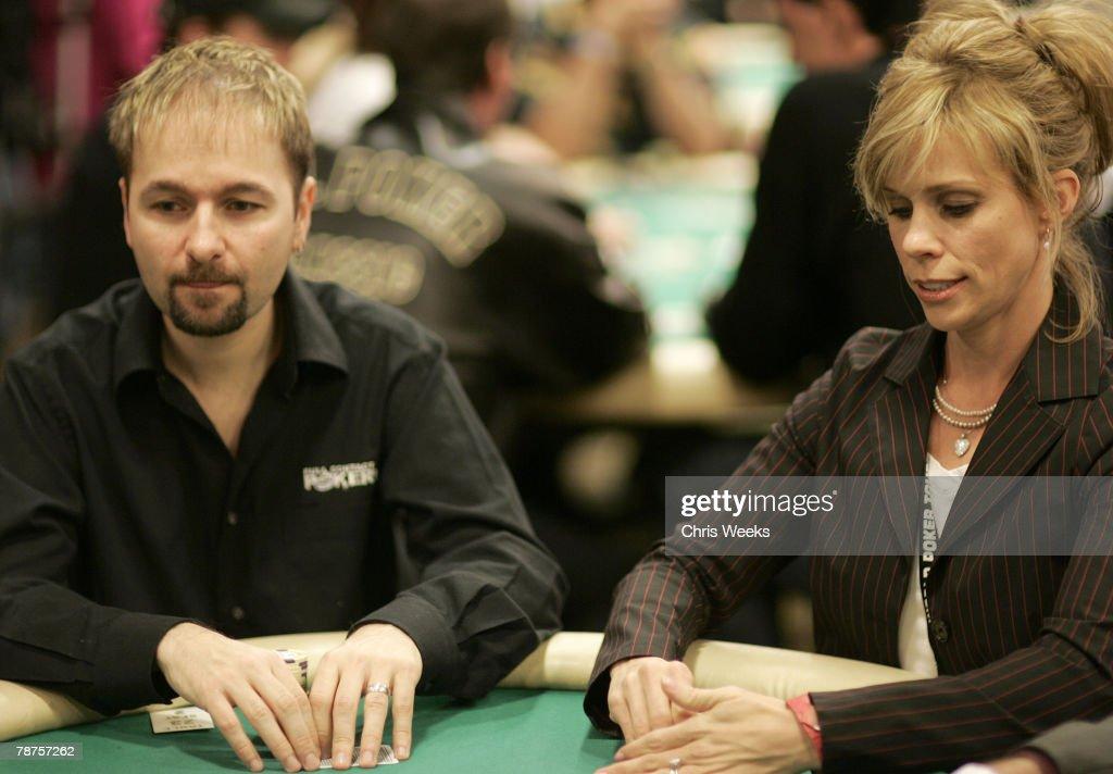 Daniel Negreanu and Cheryl Hines