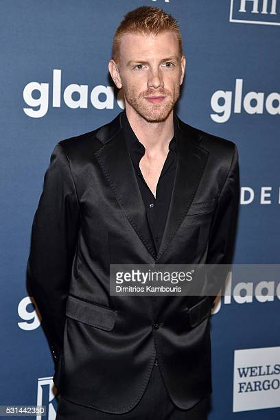 Daniel Newman attends the 27th Annual GLAAD Media Awards in New York on May 14 2016 in New York City