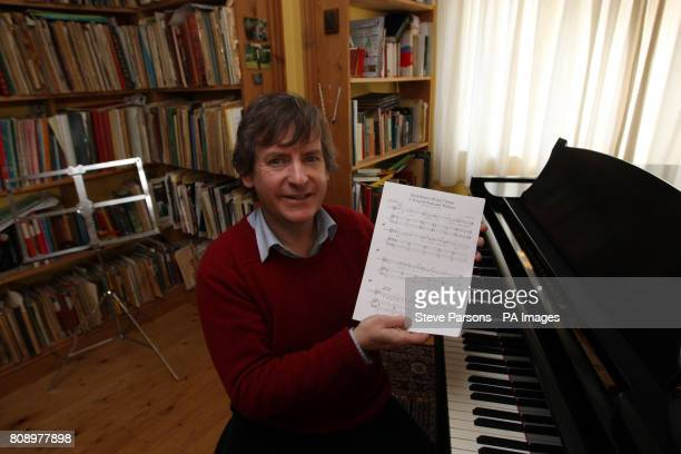 Daniel Nicholls Kate Middleton's former piano teacher who has written a song for her upcoming wedding to Prince William at his home in Bucklebury...