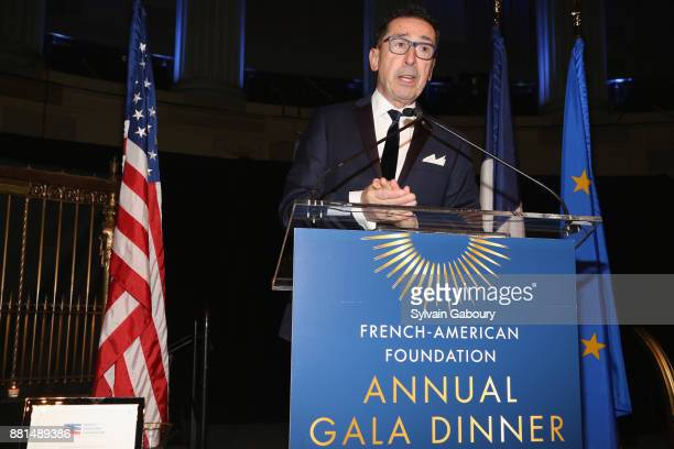 Daniel Nigro attends French American Foundation Annual Gala 2017 at Gotham Hall on November 28 2017 in New York City