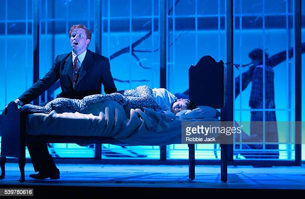 Daniel Norman Christopher Sladdin and Kate Royal in the production The Turn of the Screw