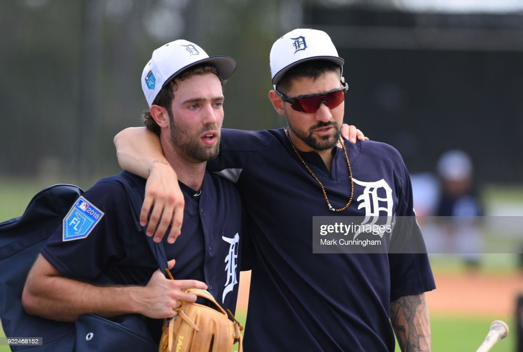 Detroit Tigers Workouts : Fotografía de noticias