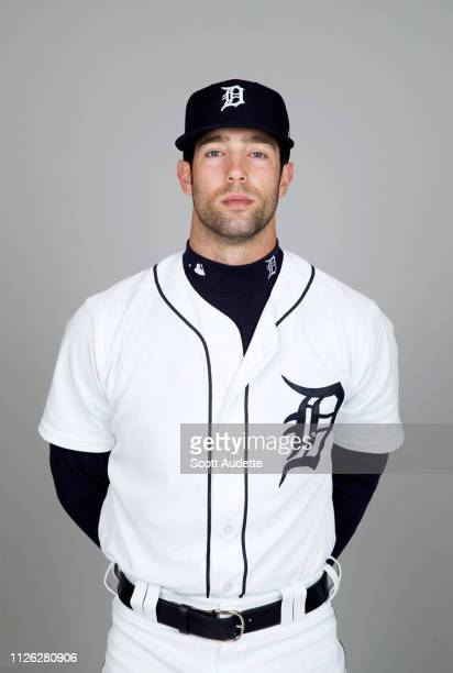 Daniel Norris of the Detroit Tigers poses during Photo Day on Tuesday February 19 2019 at Publix Field at Joker Marchant Stadium in Lakeland Florida
