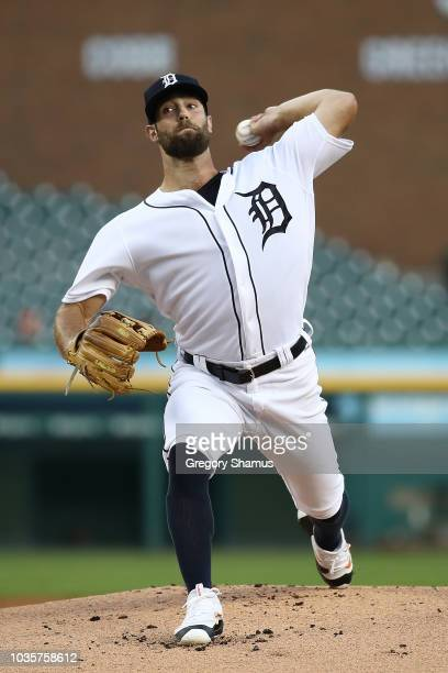 Jake Cave of the Minnesota Twins celebrates a 53 win over the Detroit Tigers with teammates at Comerica Park on September 18 2018 in Detroit Michigan