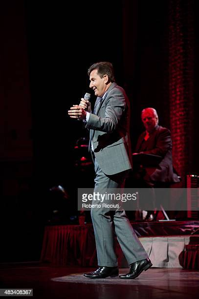 Daniel O'Donnell performs on stage at Usher Hall on April 8, 2014 in Edinburgh, United Kingdom.