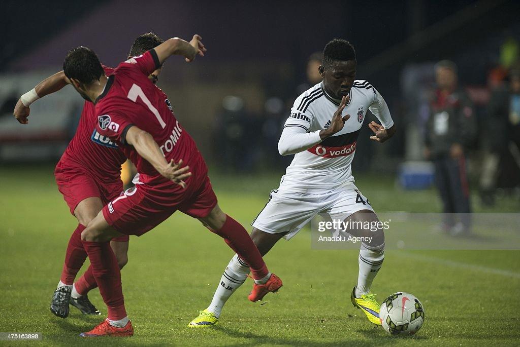 Besiktas v Genclerbirligi - Turkish Spor Toto Super League : News Photo