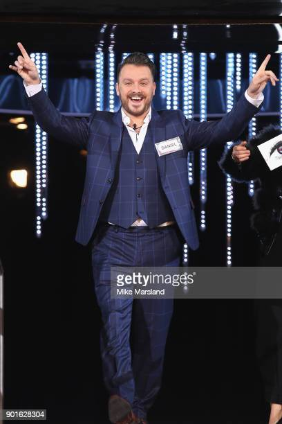 Daniel O'Reilly attends the Celebrity Big Brother male contestants launch night at Elstree Studios on January 5 2018 in Borehamwood England