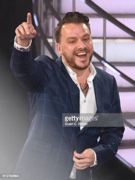 Daniel O'Reilly is evicted during Celebrity Big Brother at Elstree Studios on January 26 2018 in Borehamwood England