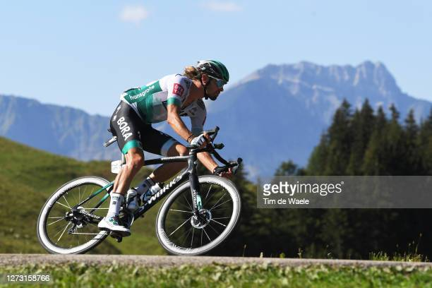 Daniel Oss of Italy and Team Bora - Hansgrohe / during the 107th Tour de France 2020, Stage 18 a 175km stage from Méribel to La Roche sur Foron 543m...