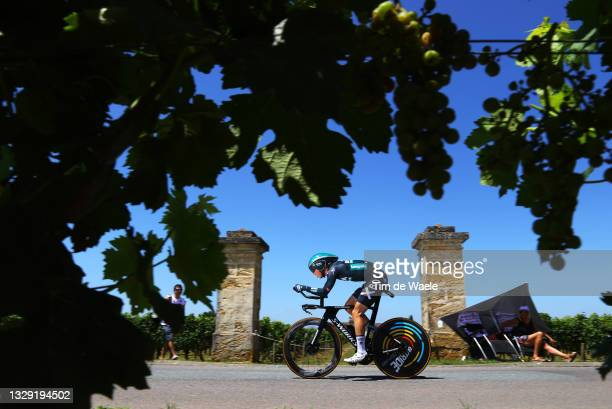 Daniel Oss of Italy and Team BORA - Hansgrohe during the 108th Tour de France 2021, Stage 20 a 30,8km Individual Time Trial Stage from Libourne to...