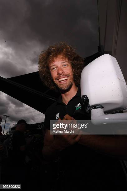 Daniel Oss of Italy and Team BoraHansgrohe before stage four of the 13th Amgen Tour of California 2018 San Jose / Morgan Hill a 347 km Individual...