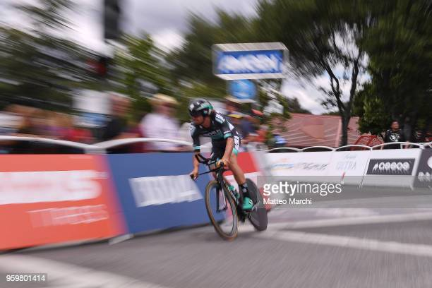 Daniel Oss of Italy and Team BoraHansgrohe rides during stage four of the 13th Amgen Tour of California 2018 San Jose / Morgan Hill a 347 km...