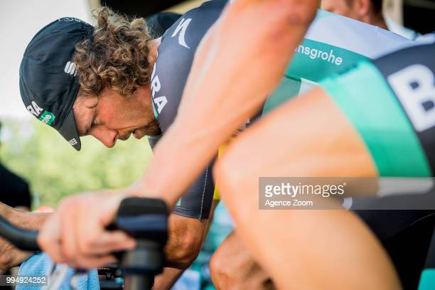 Daniel Oss of team BORA during the stage 03 of the Tour de France 2018 on July 9, 2018 in Cholet, France.