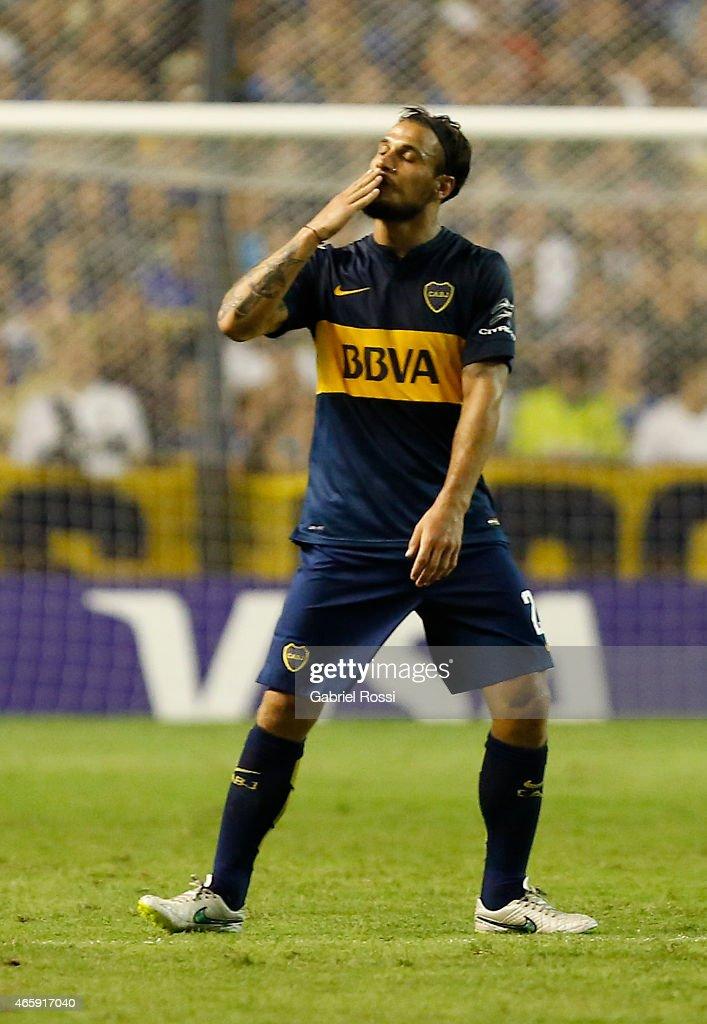 Boca Juniors v Zamora - Copa Bridgestone Libertadores 2015