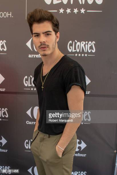 Daniel Oviedo Morrilla of the Gemeliers seen attending his new album 'Stereo' presentation at the Glories shopping center on June 22 2018 in...
