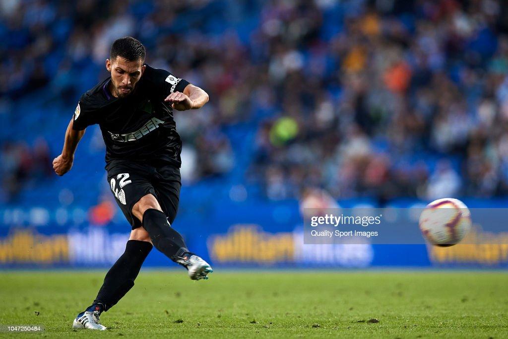 Deportivo de La Coruna v Malaga - Segunda Division : News Photo