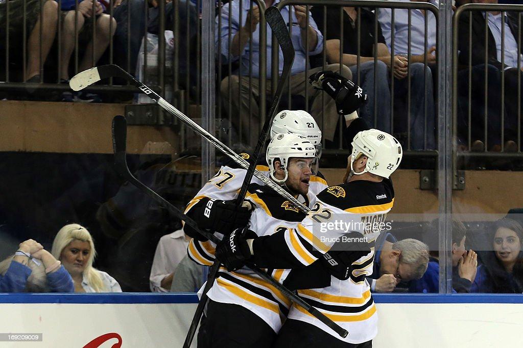 Boston Bruins v New York Rangers - Game Three