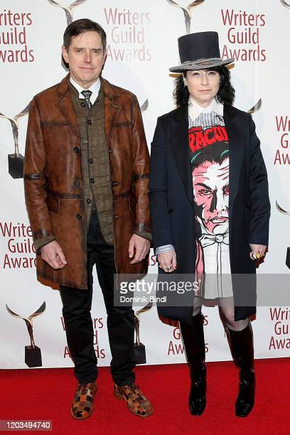 Daniel Palladino and Amy ShermanPalladino attend the 72nd Writers Guild Awards at Edison Ballroom on February 01 2020 in New York City