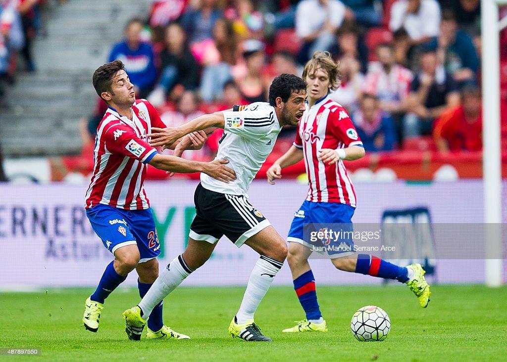 Sporting Gijon v Valencia CF - La Liga