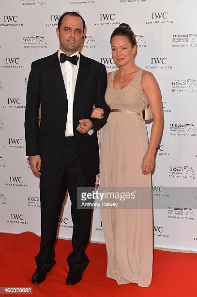 Daniel Parry and Viktoria Parry during the IWC Filmmaker Award Night 2014 at The One Only Royal Mirage on December 11 2014 in Dubai United Arab...